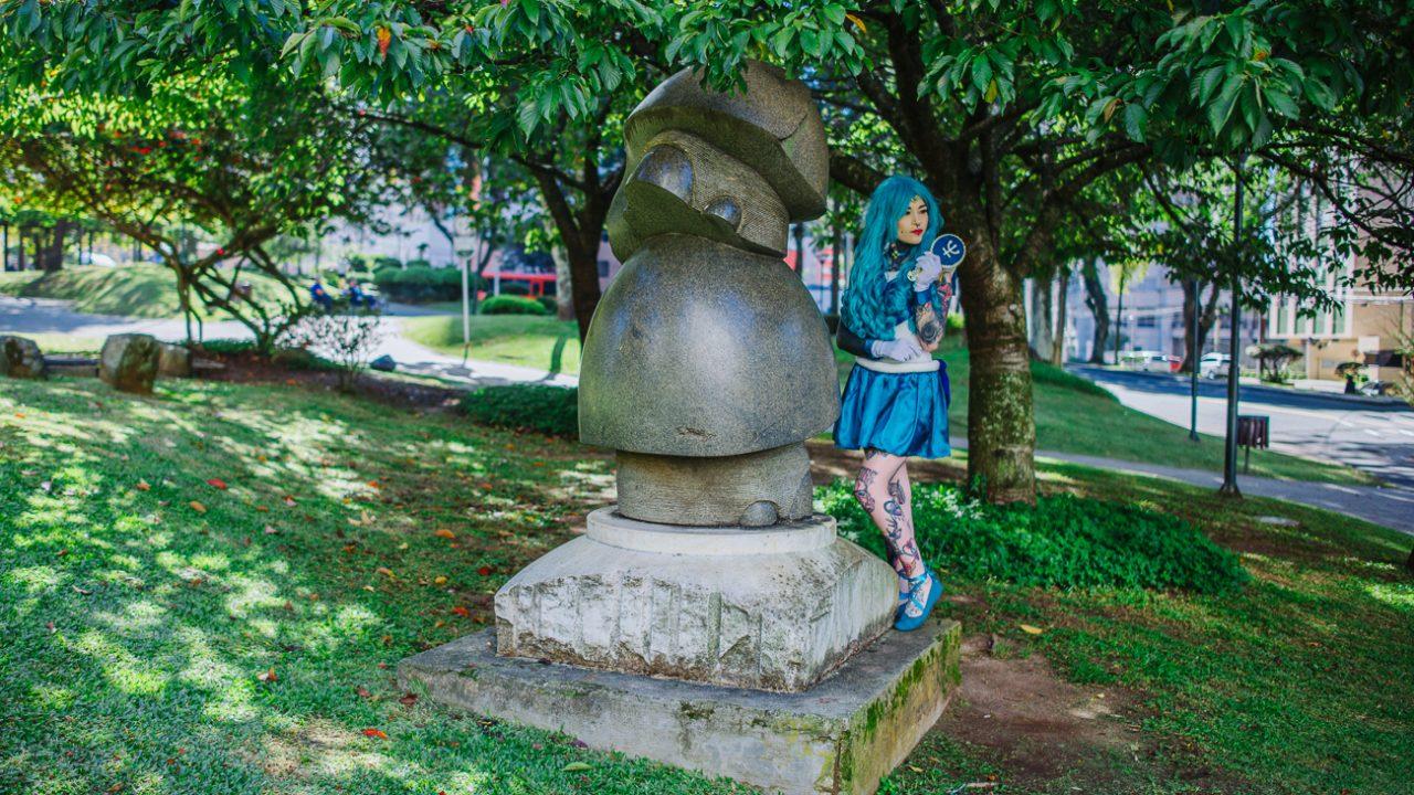 Escultura da Paz Nº 30.31 da Paz na Praça do Japão