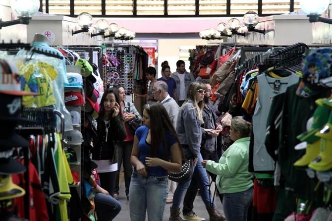Mercado Central vários boxes. Foto: Divulgação