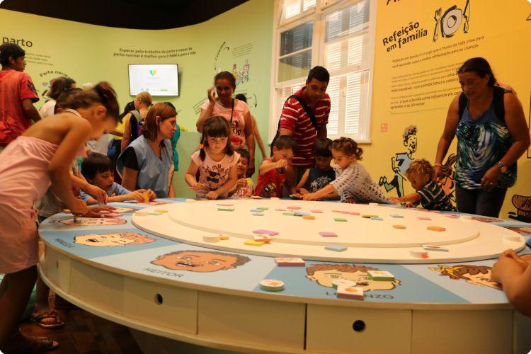 Muita interação no Museu da Vida. Foto: Site Museu da Vida