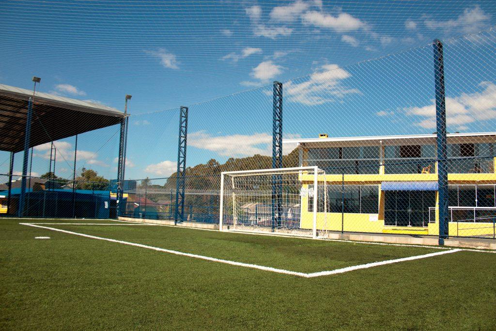Estrutura de primeira pra reunir a galera. Foto: Site Arena Amigos da Bola