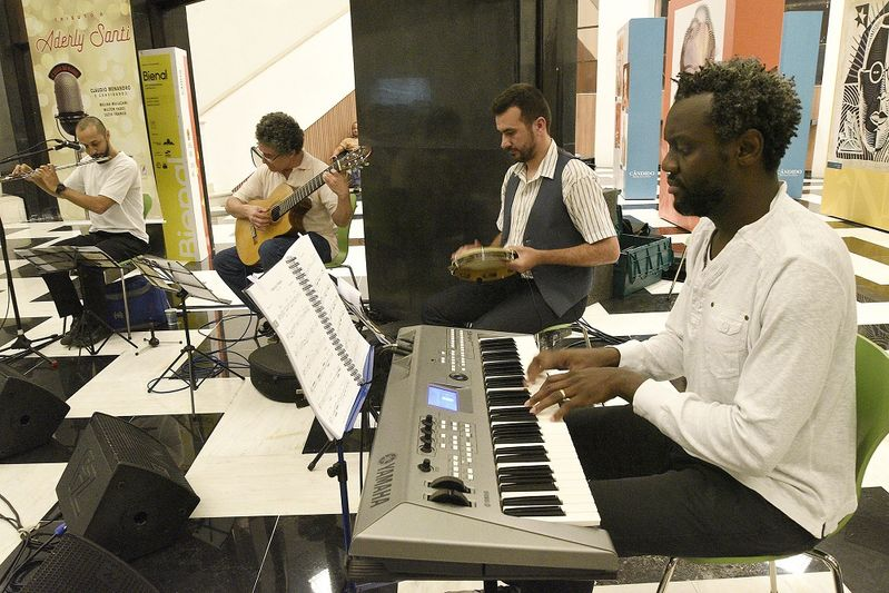 Música na Biblioteca. Foto: Kraw Penas/SEEC