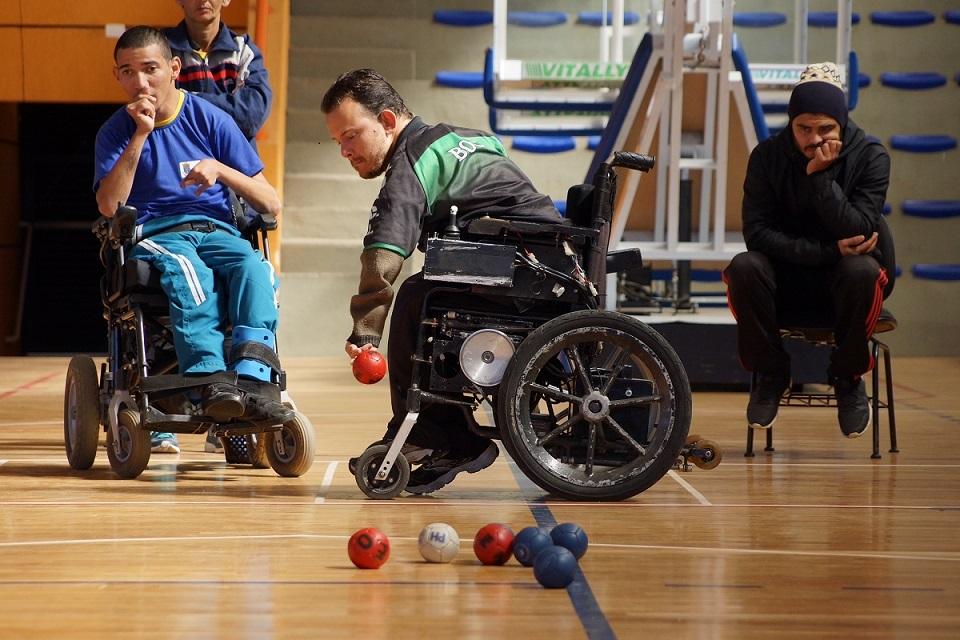 Bocha Paralímpica. Foto: UFPR