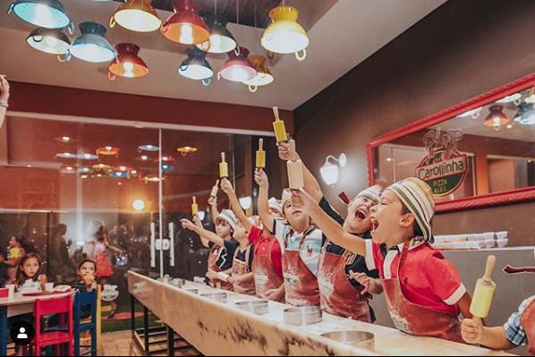 Pequenos Pizzaiolos. Foto Divulgação