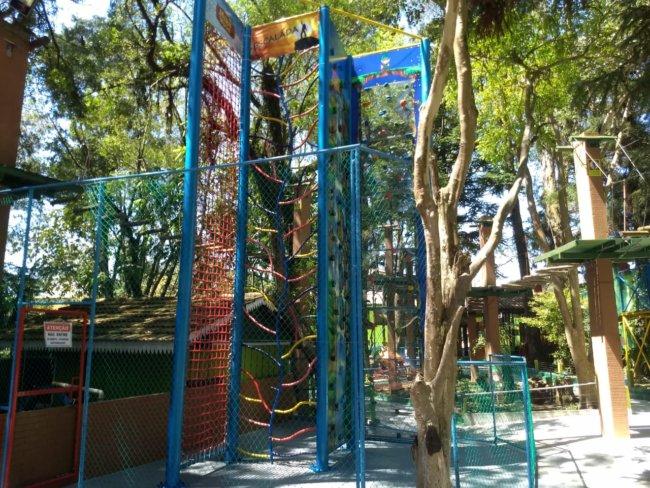 Parque estreia nova escalada para o Dia das Crianças (Foto: Rodrigo Braga)