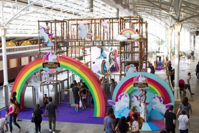 Foto: Alexandre Gasparini / Divulgação Parque Unicorn. Foto Divulgação