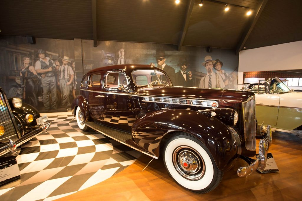 Modelo Packard 1937. Foto: Divulgação